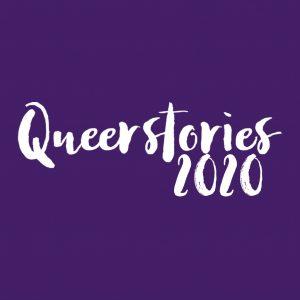 Queerstories 2020 Purple Logo